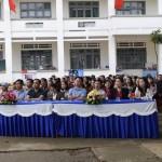 Khai mạc tuần lễ học tập suốt đời  của huyện tại trường THCS Lê Hồng Phong